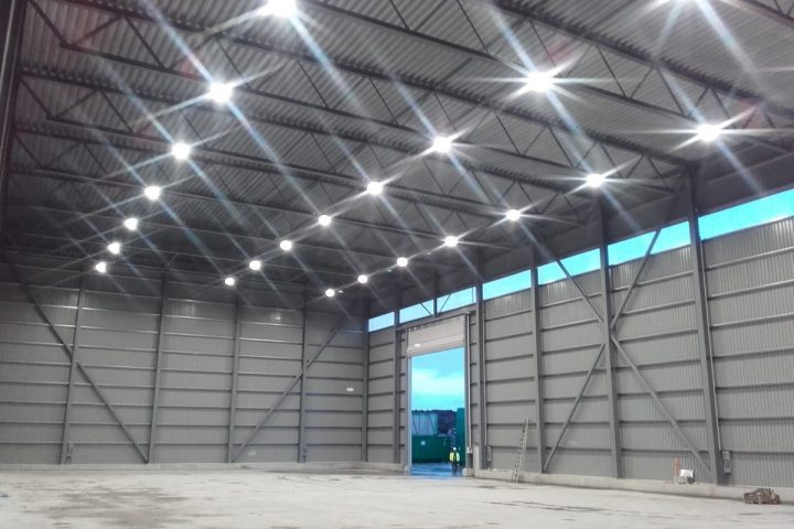 lumens - led belysning mongstad industri