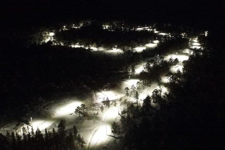 lysløype-ski-led-belysning-lumens-kleivane